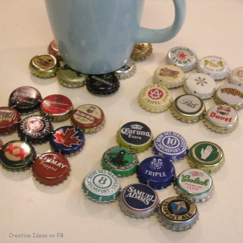 bottle caps craft ideas pinterest
