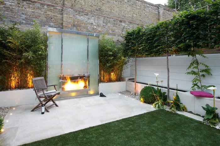 Gartengestaltung feuerstelle im garten - Stylische balkonmobel ...