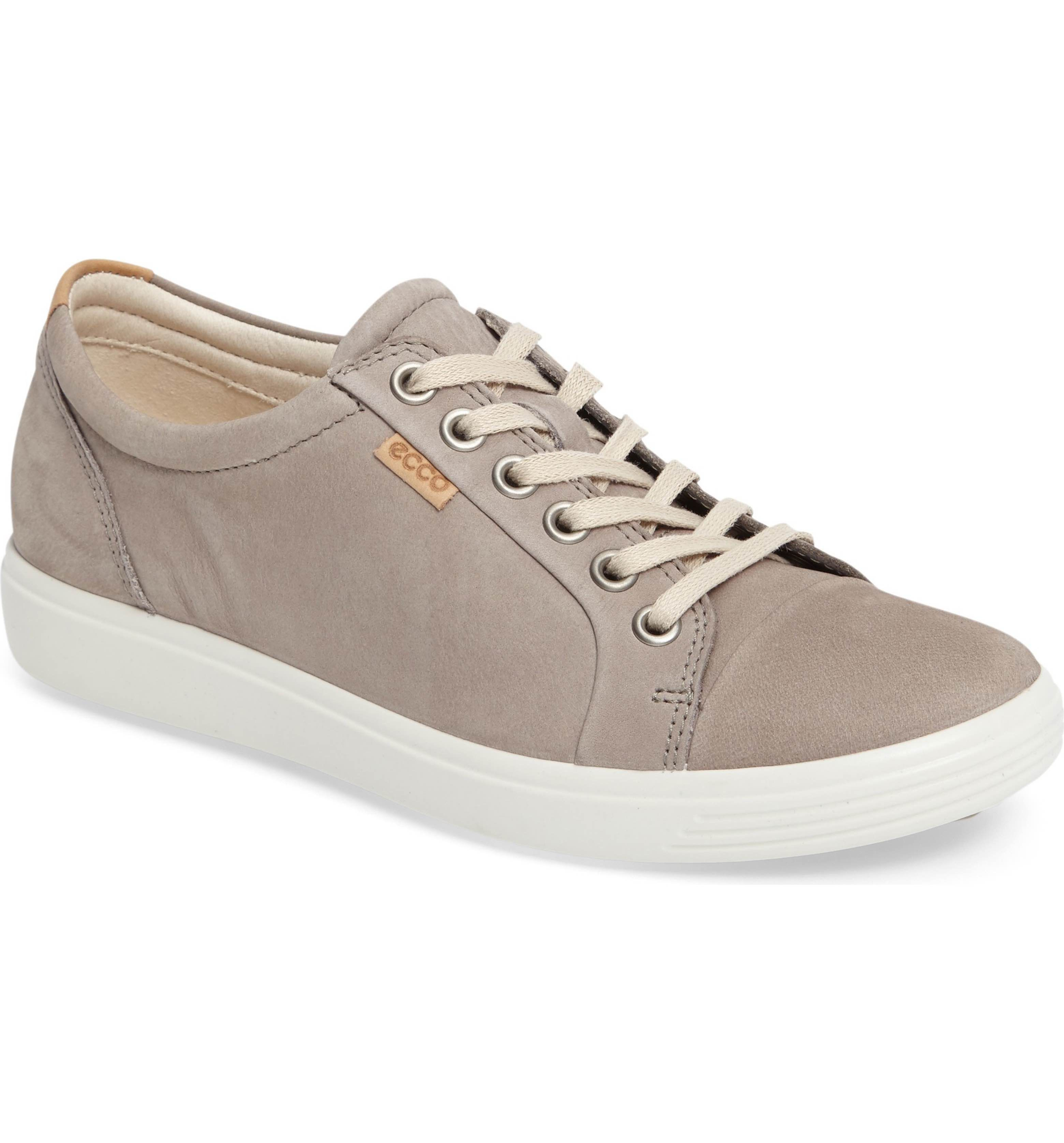 ecco soft 7 cap toe sneaker womens
