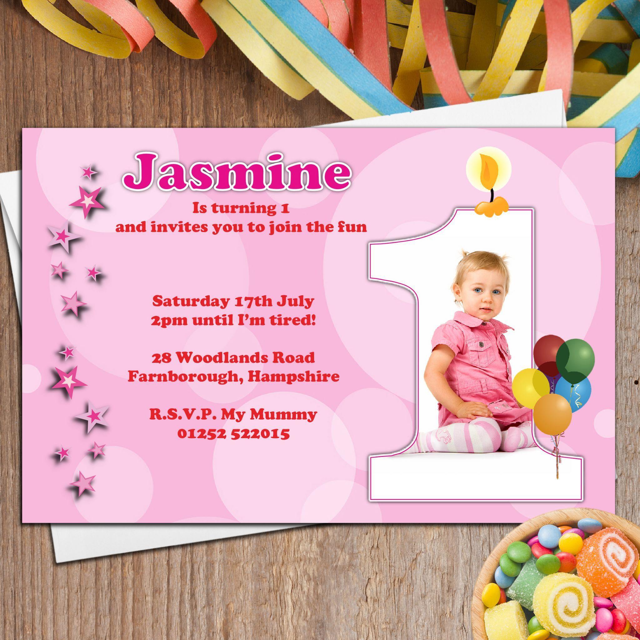 Stbirthdayandchristeninginvitations Baptism Invitations - Birthday invitation and christening