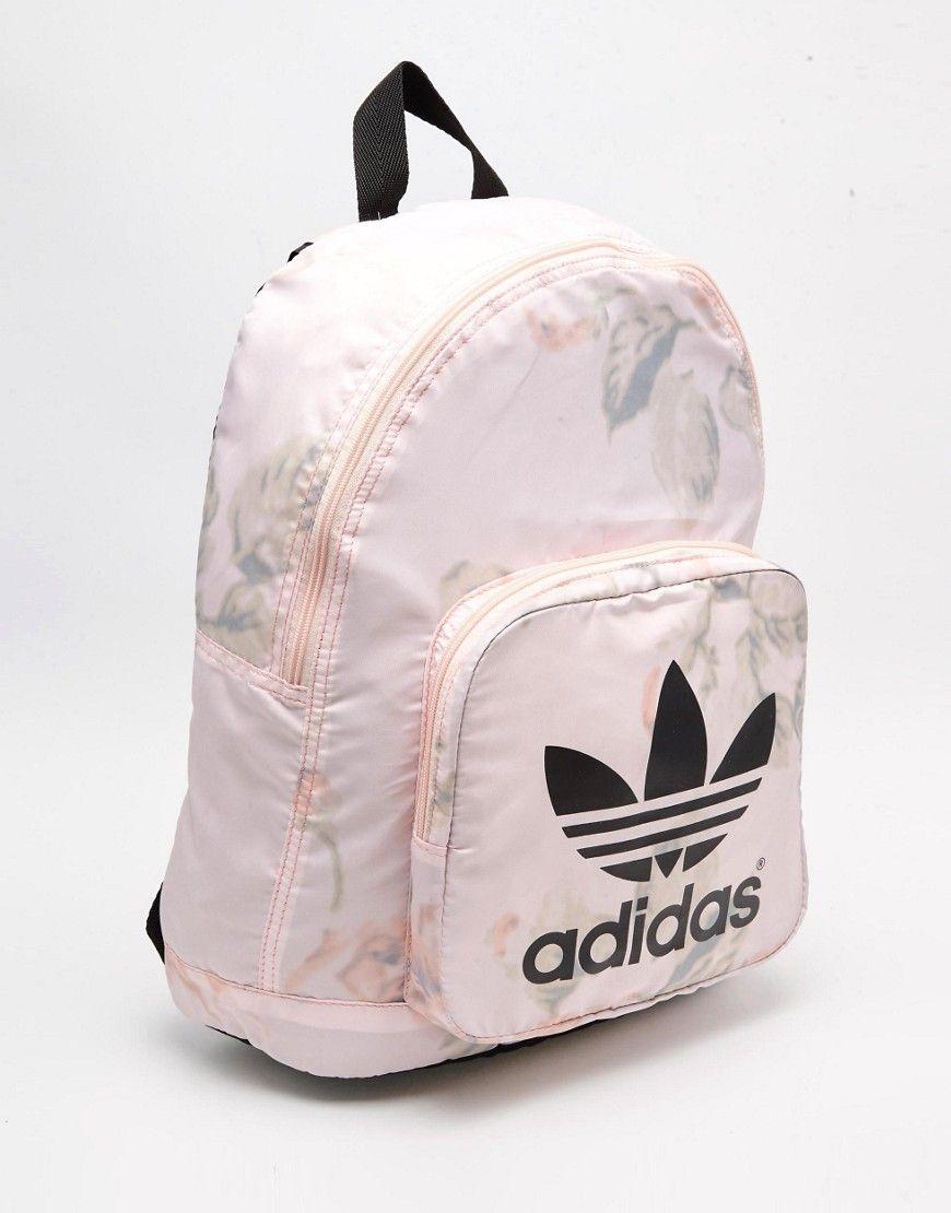641b8523d4a7 Image 2 of adidas Originals Pastel Rose Backpack
