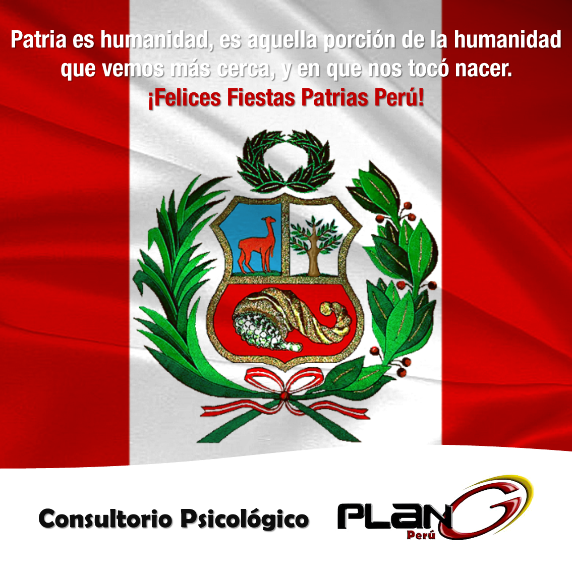 Sabes qué es la Patria? ✔ Consultorio Psicológico Plan G Perú