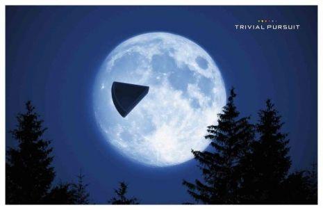 """DDB Paris pour Hasbro - jeu de société Trivial Pursuit, """"Triangle"""" - janvier 2014 - Support print -"""