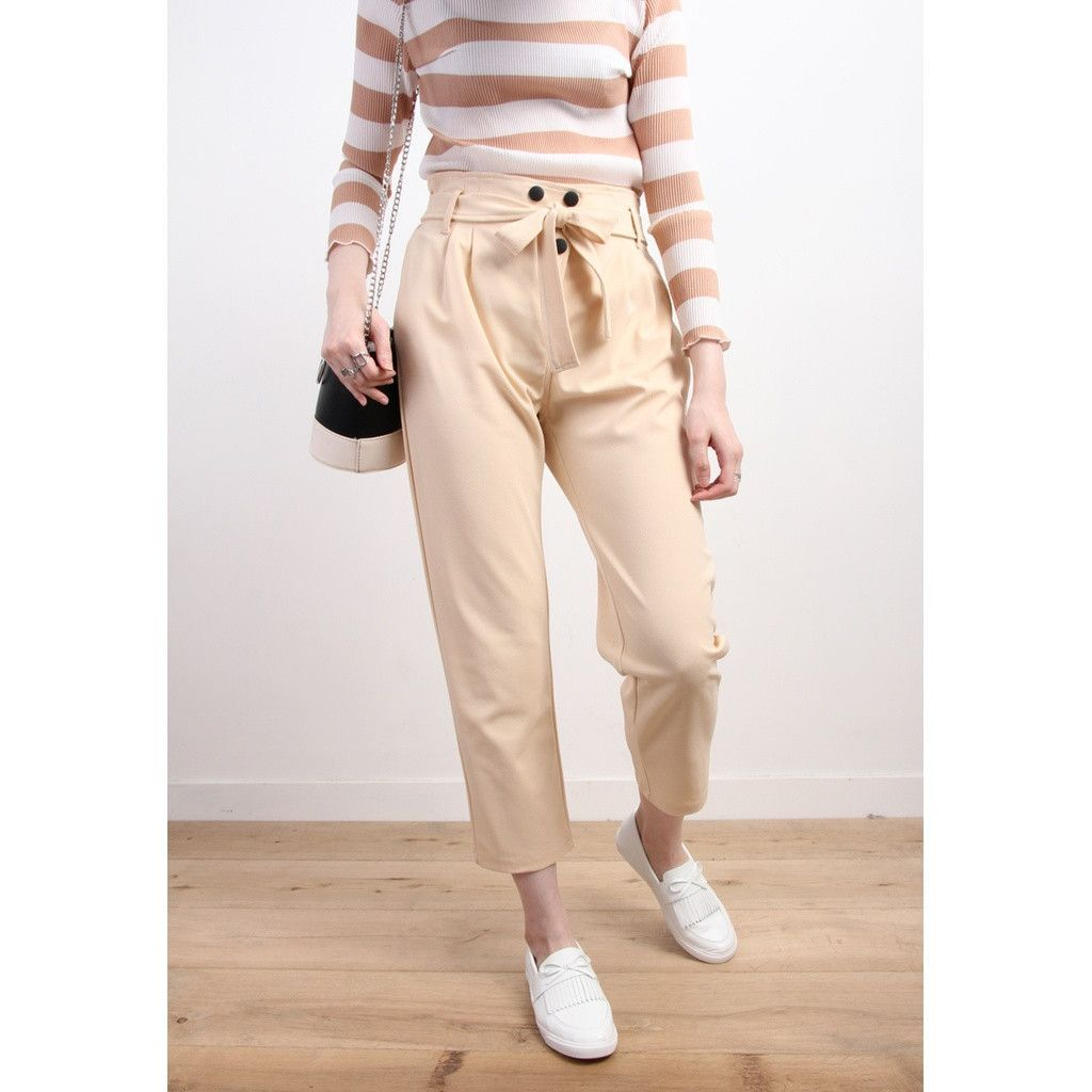 #CuratedPick @ TheArtOfLiving.Earth : Retro Style High ... http://theartofliving.earth/products/retro-style-high-waist-tapered-trousers-with-button-detail?utm_campaign=social_autopilot&utm_source=pin&utm_medium=pin