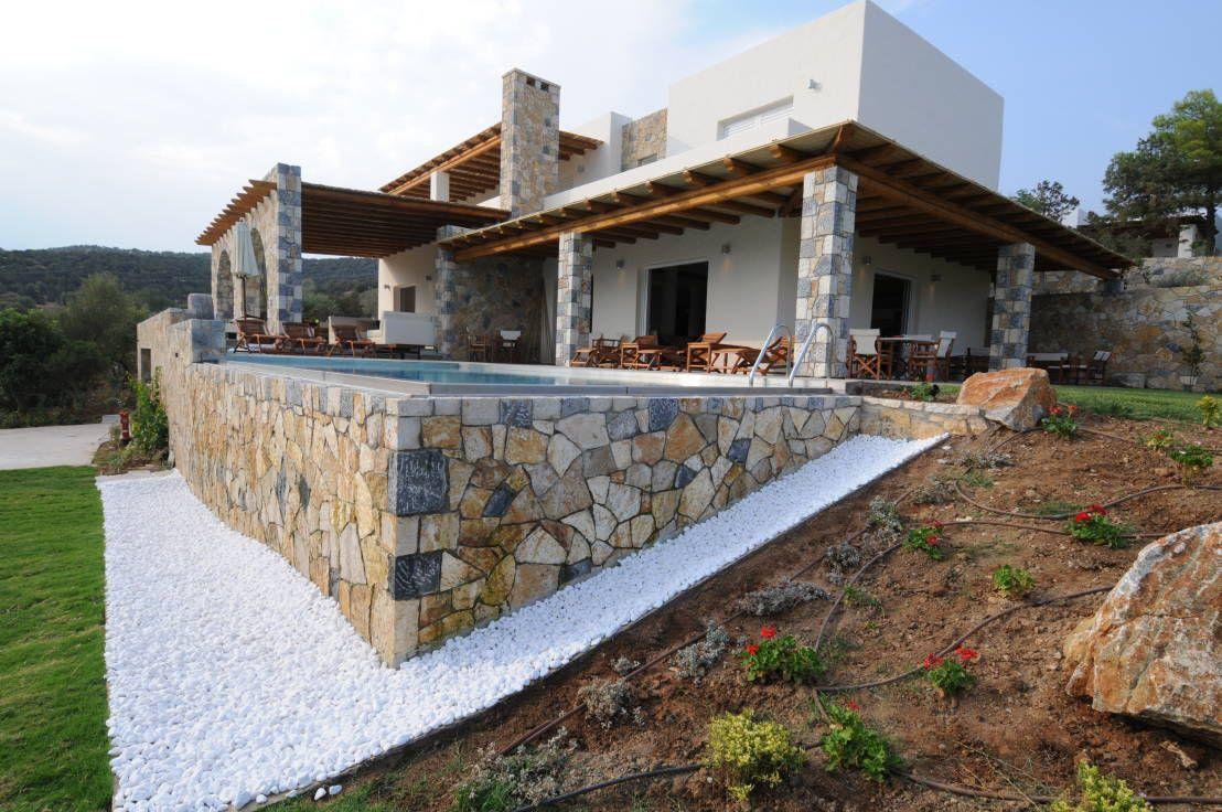 360 il progetto di una villa al mare case estate e for Case architettura moderna