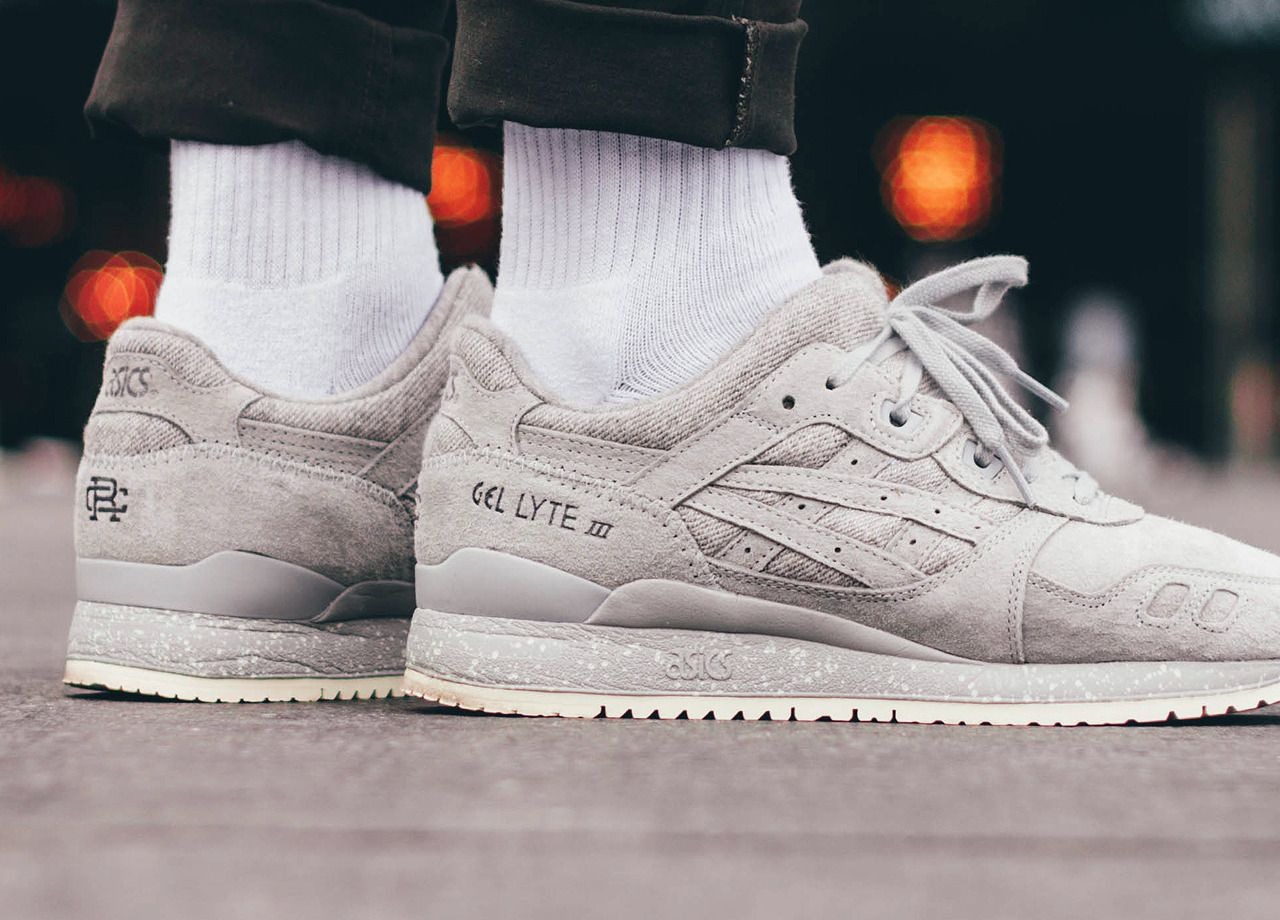 the best attitude 5e915 fe5e9 Reigning Champ x Asics Gel Lyte III - Grey - 2016 by ...