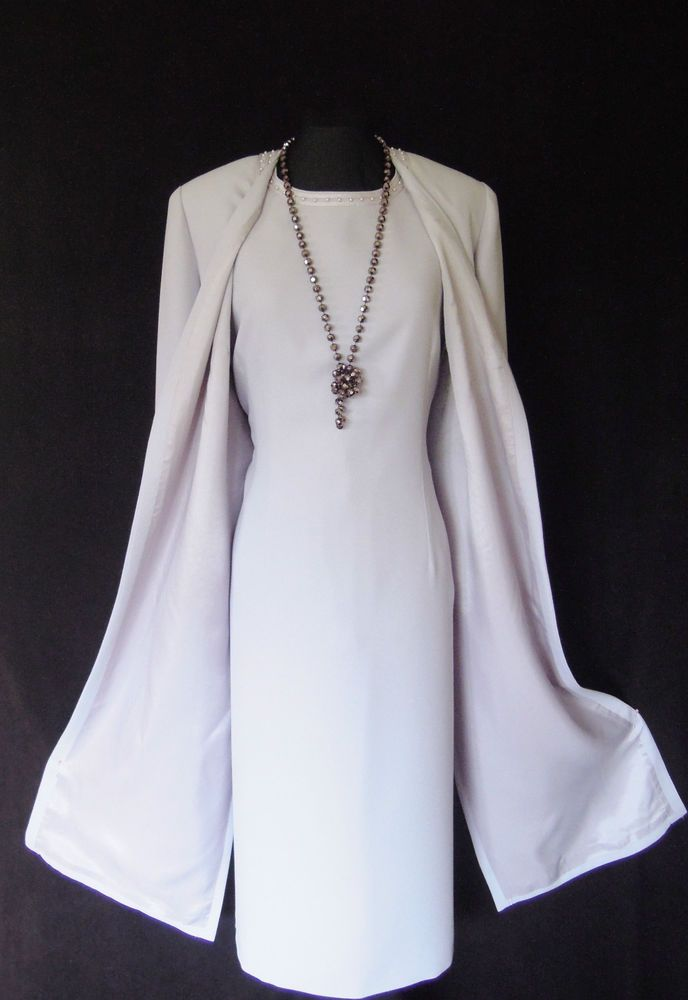 CONDICI Wedding Outfit Size 18 Lilac Dress and Coat Suit Ladies ...