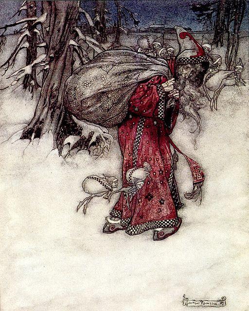Illustrated by Arthur Rackham.
