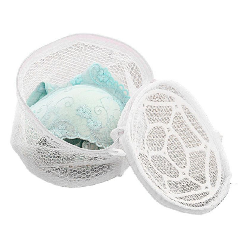 Top Grand Delicate Convenient Bra Lingerie Wash Laundry Bags Home Using Clothes Washing Net Mesh Zip Bag Hot Selling