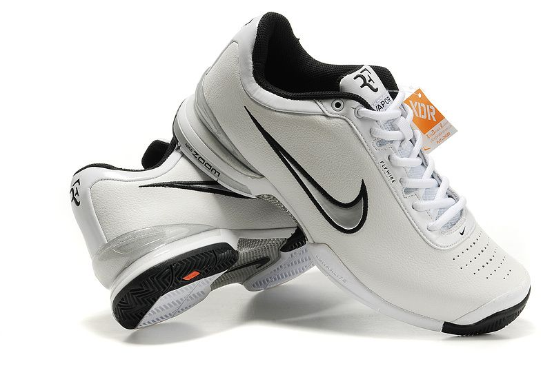 Nike Air Zoom Vapor VI Tour Men's Tennis Shoes White Silver