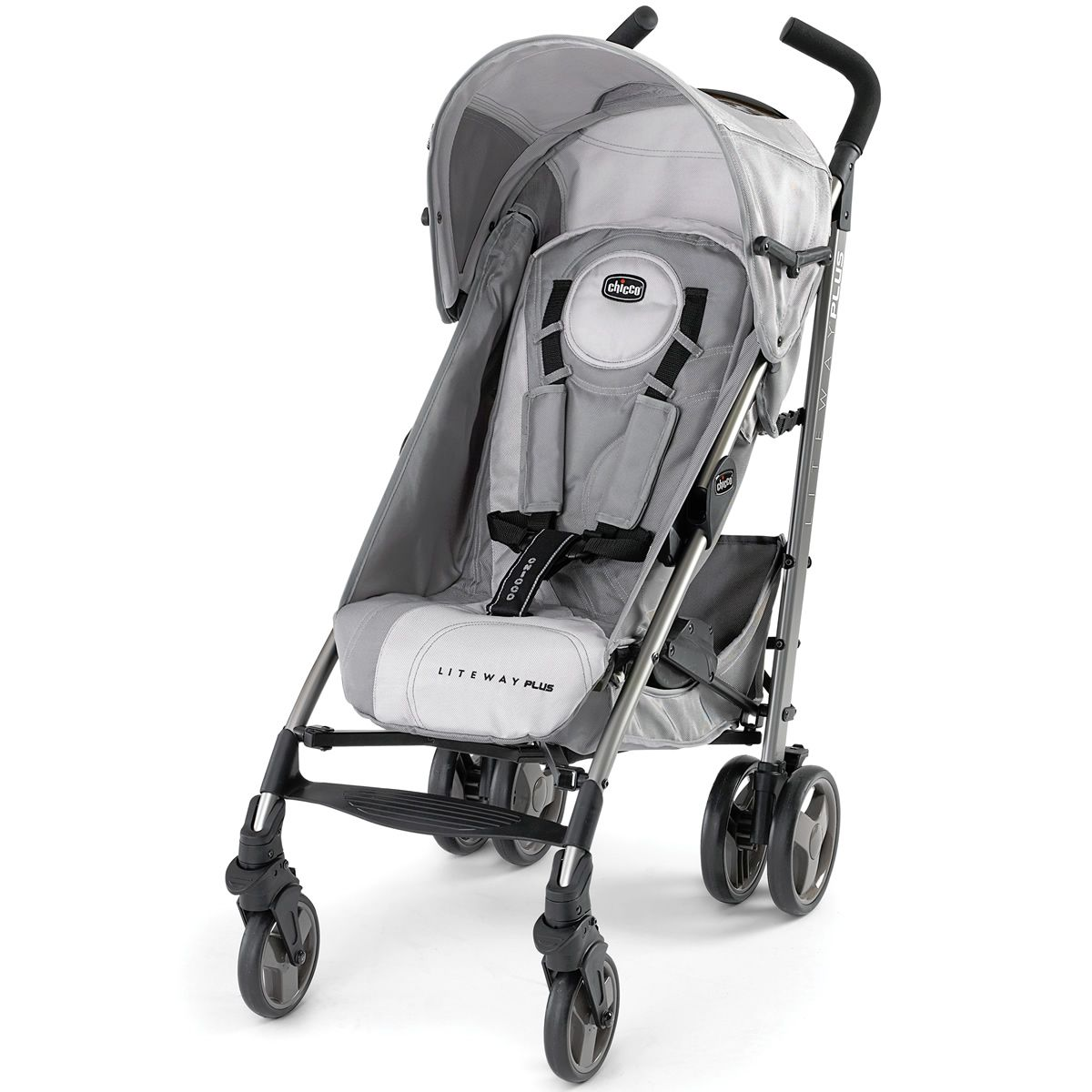 Chicco Liteway Plus Stroller Silver Carritos de bebé