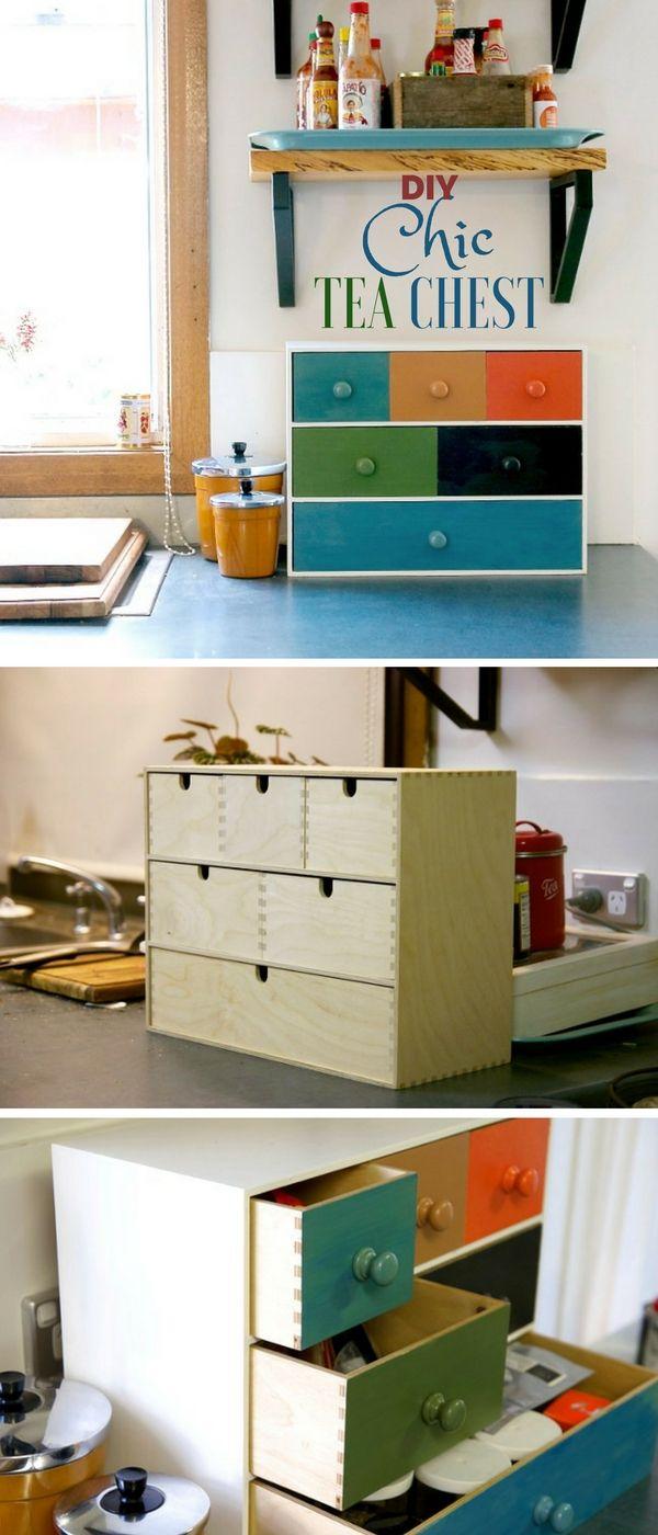 15 Amazing DIY Organization Ideas For The Kitchen | Pinterest ...