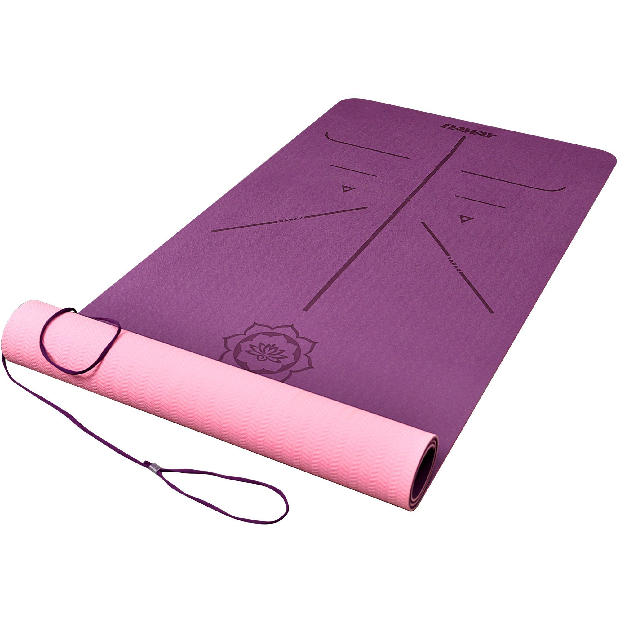 and yoga for mat pvc product mats yogdev hot by wheels best pink quality premium