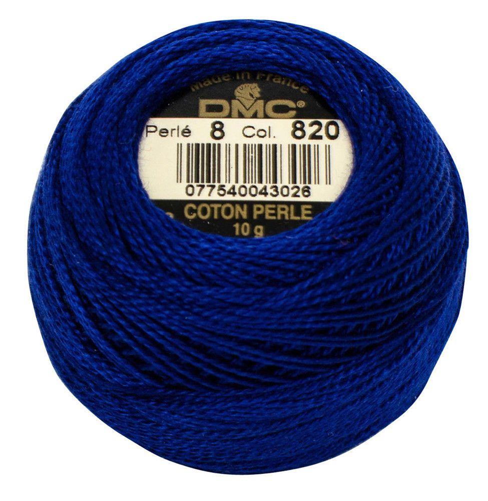 3 x 8 metres DMC Threads PALE DELFT BLUE 800