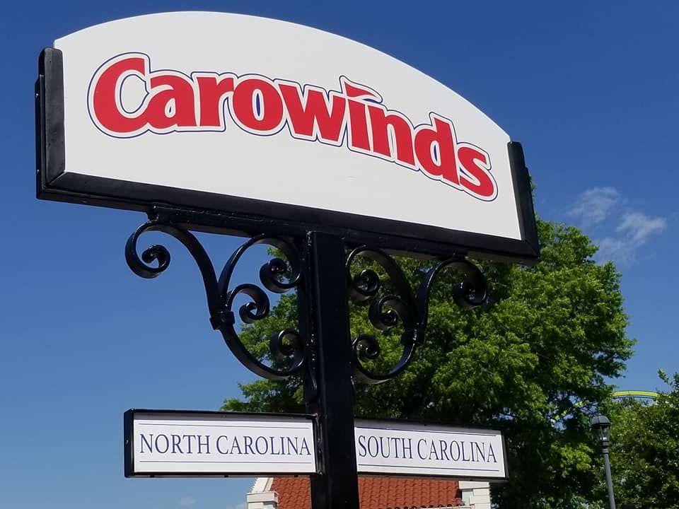 Carowinds South Carolina North Carolina Carolina