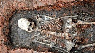 BDTN Breaking Down The News : 'Alien in Chelyabinsk': 2,000-yo skeleton with cone head dug up at Russian Stonehenge