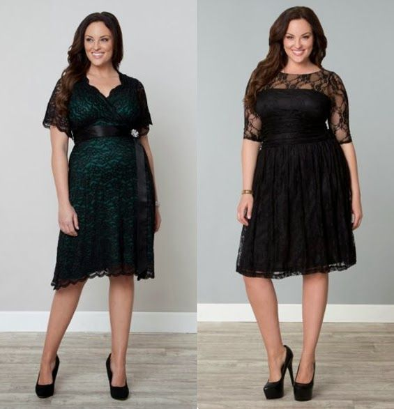 Size Christmas Dresses