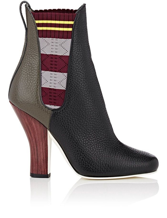 Fendi Leather Chelsea Boots WUlbRPAy