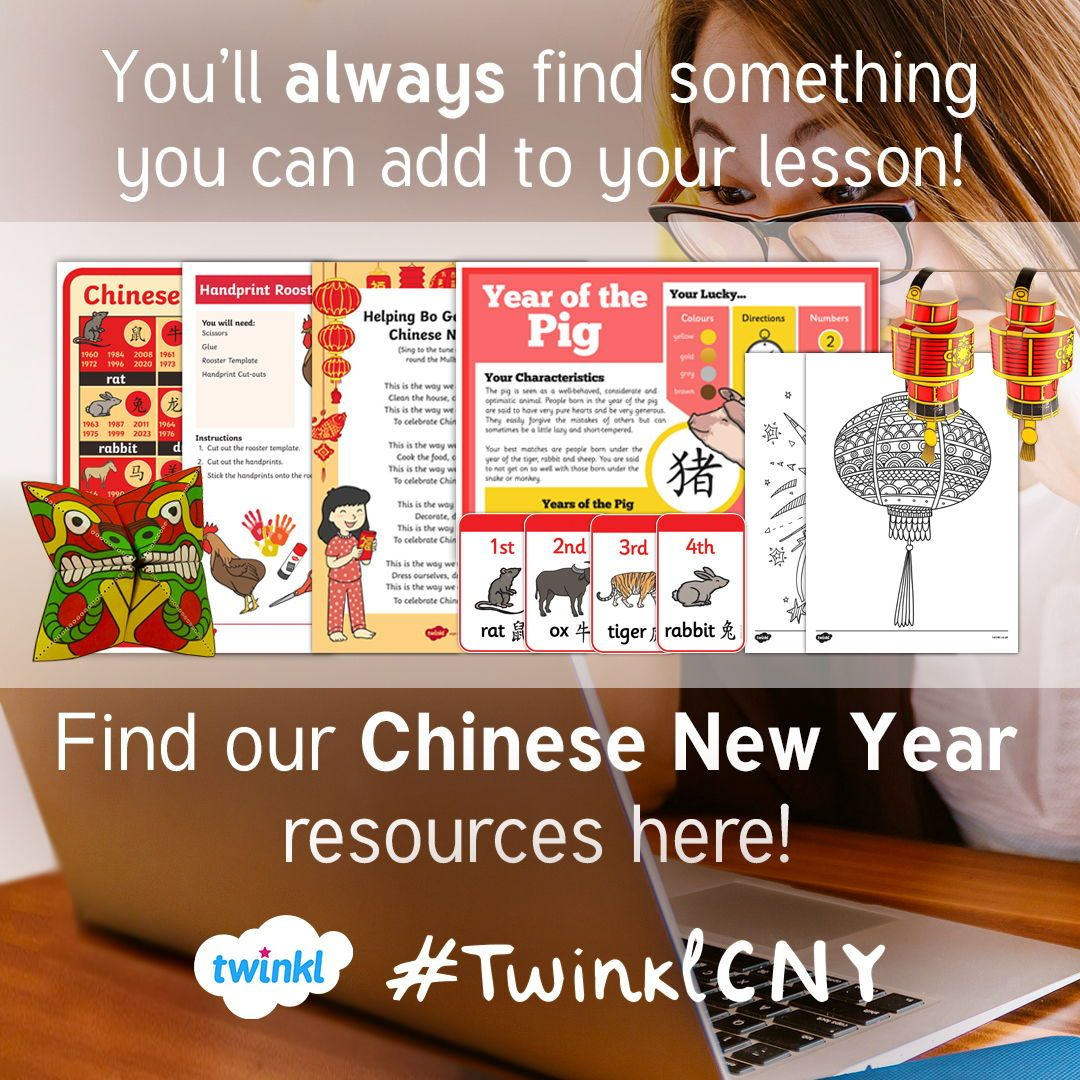 Find Hundreds Of Chinese New Year Related Teaching Ideas