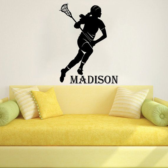 Wall Decal Name Vinyl Sticker Personalized Custom Name Decals Art ...