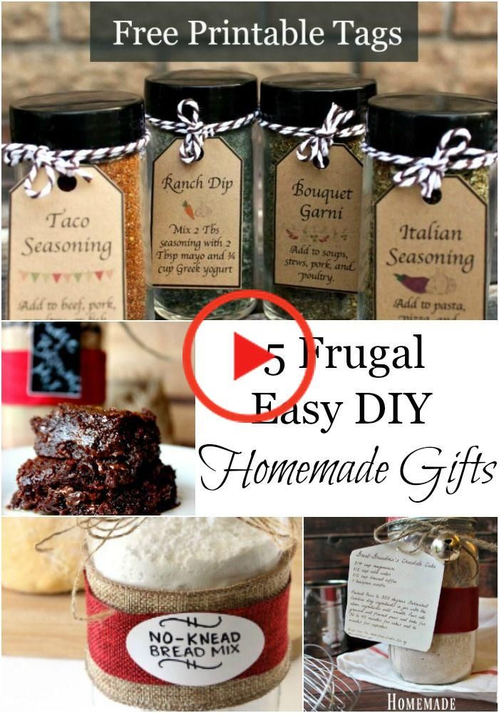 5 Frugal Homemade Homestead Gifts