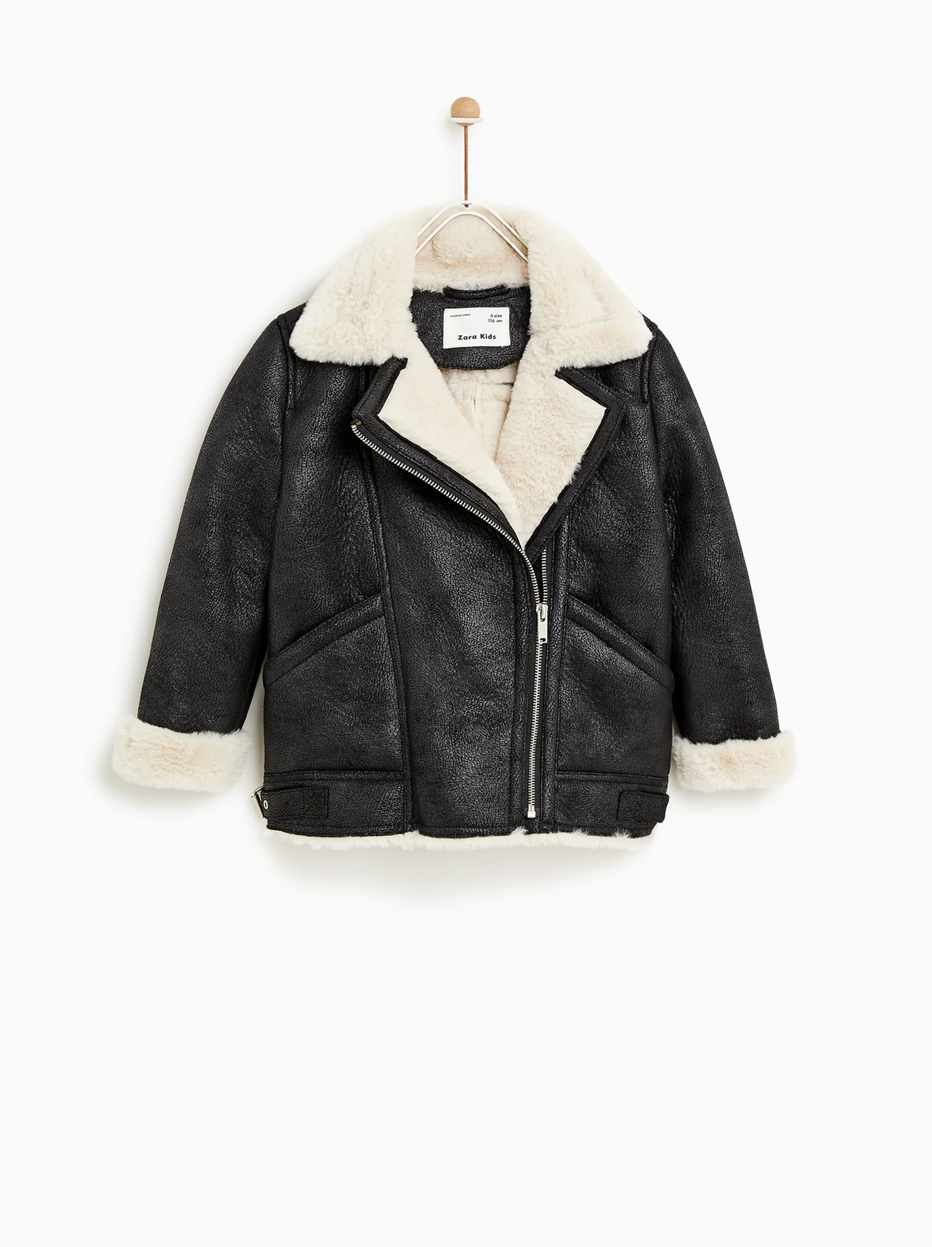 da9d6523f Image 2 of DOUBLE SIDED JACKET from Zara