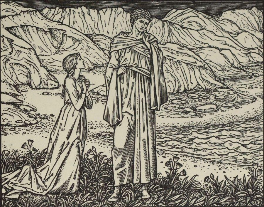 """""""Allas! quod she, that evere I was born!"""""""