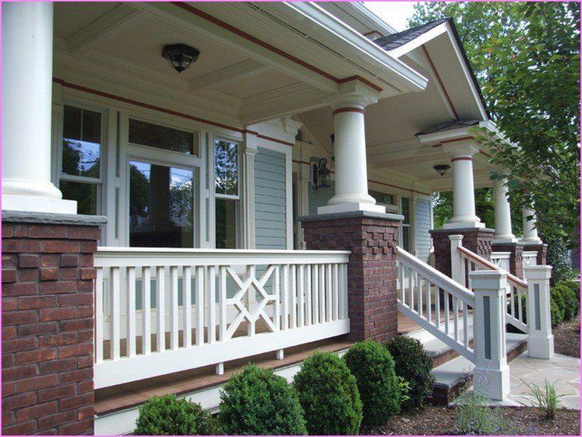 Unique Porch Railing Ideas Splendid Home Front Porch Materials For