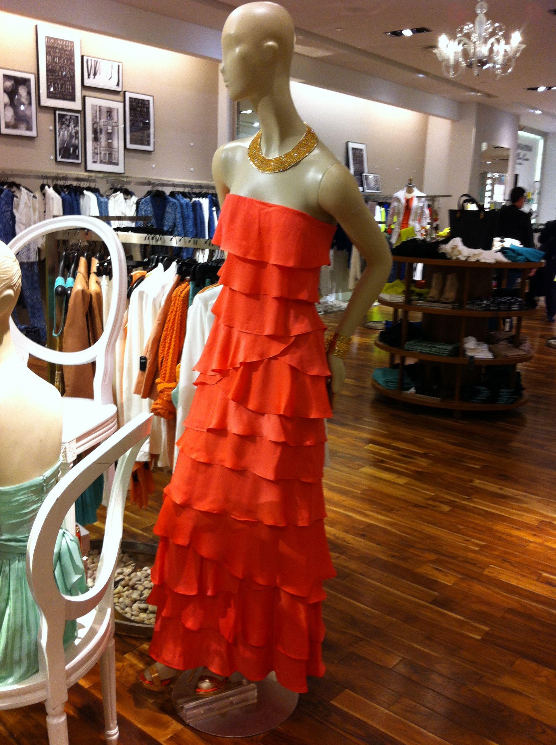 Cotillion dress.