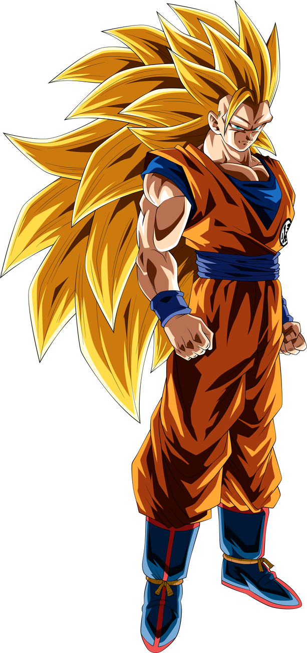 Goku Super Saiyan 3 By Thetabbyneko Goku Super Saiyan Blue Goku Super Saiyan Goku Super
