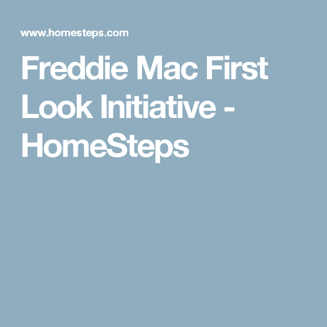Freddie Mac First Look Initiative Homesteps A1 Homes I Love