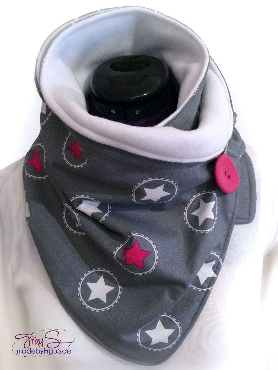 Photo of Eingewickelter Schal mit Knopf – Weihnachtsgeschenk