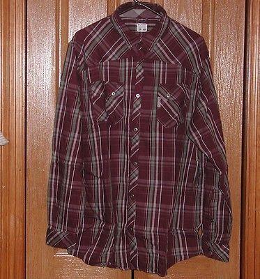 COLUMBIA Sportswear HEELSIDE Elderberry Shirt UPF 50 Flannel Long Sleeve NIP CK
