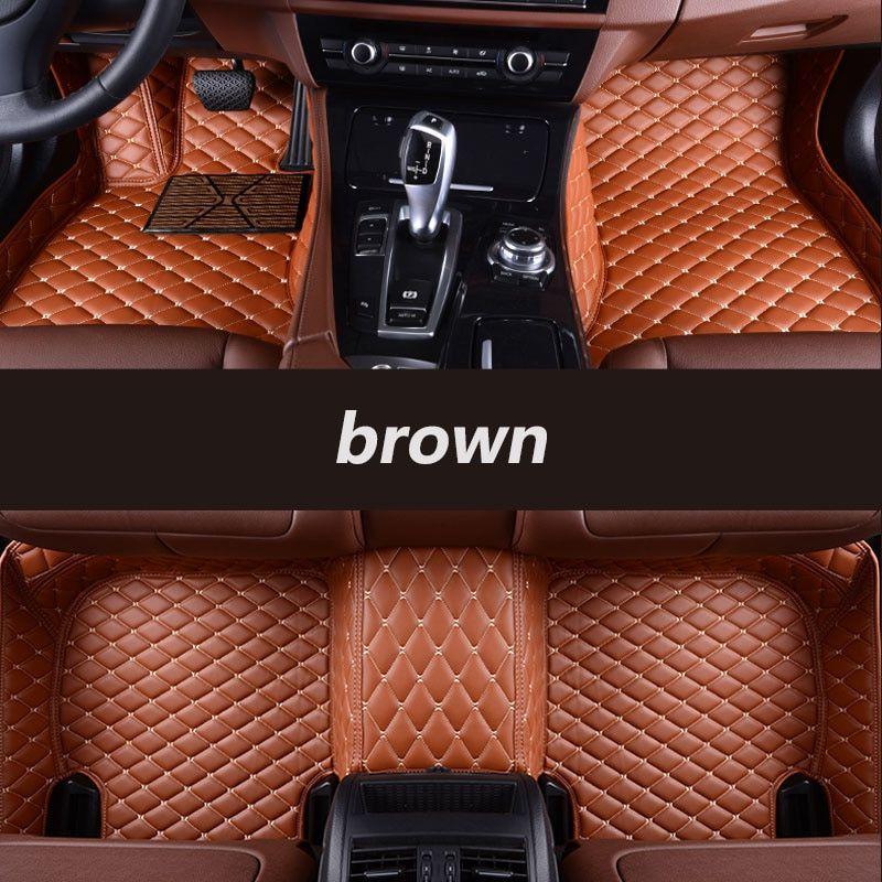 Kalaisike Custom Car Floor Mats For Renault All Models Scenic
