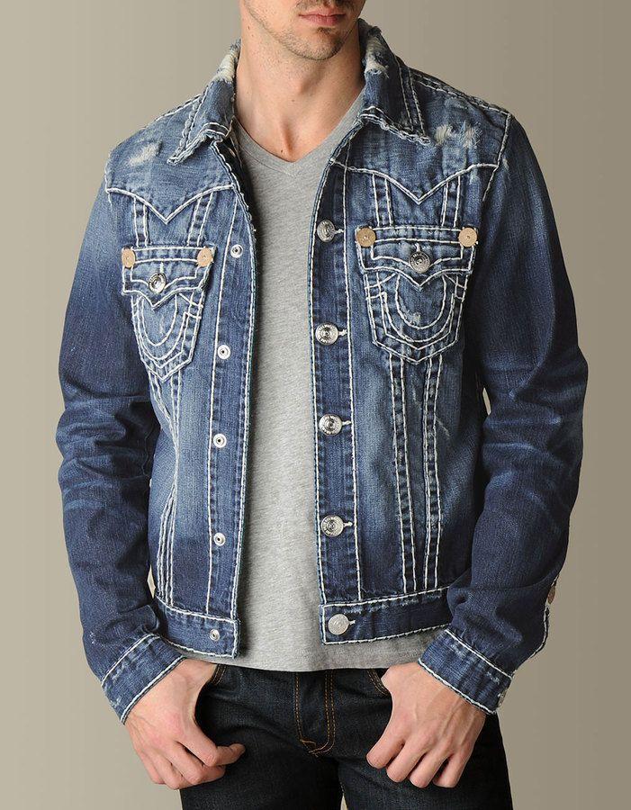 True religion jeansjacke jimmy super t