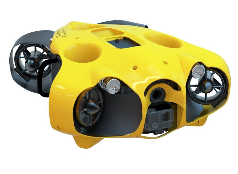 Photo of a submarine drone that freely captures your underwater journey in high definition