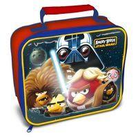 7ed0dcfe7eca Star Wars Angry Birds Lunch Bag