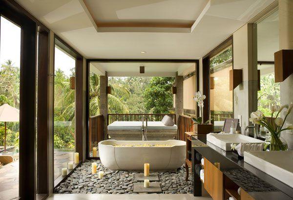 Bathroom designs · Kamandalu Resort & Spa Bali Ubud Villa - Cantik Bali  Villas