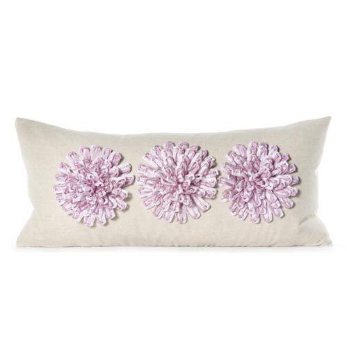 Daniel Stuart Studio - Gallery - Aster Pillow - Churchill Linen Aster Pillow col: Lilac / Flax