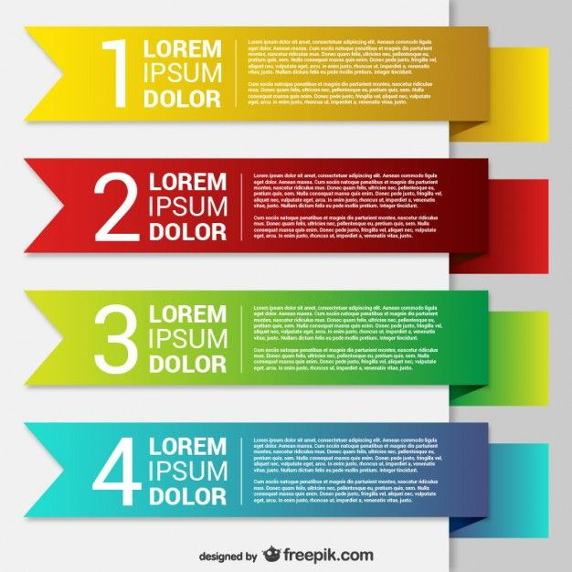 Colorful origami banner templates | Layout | Sources & Inspiration ...