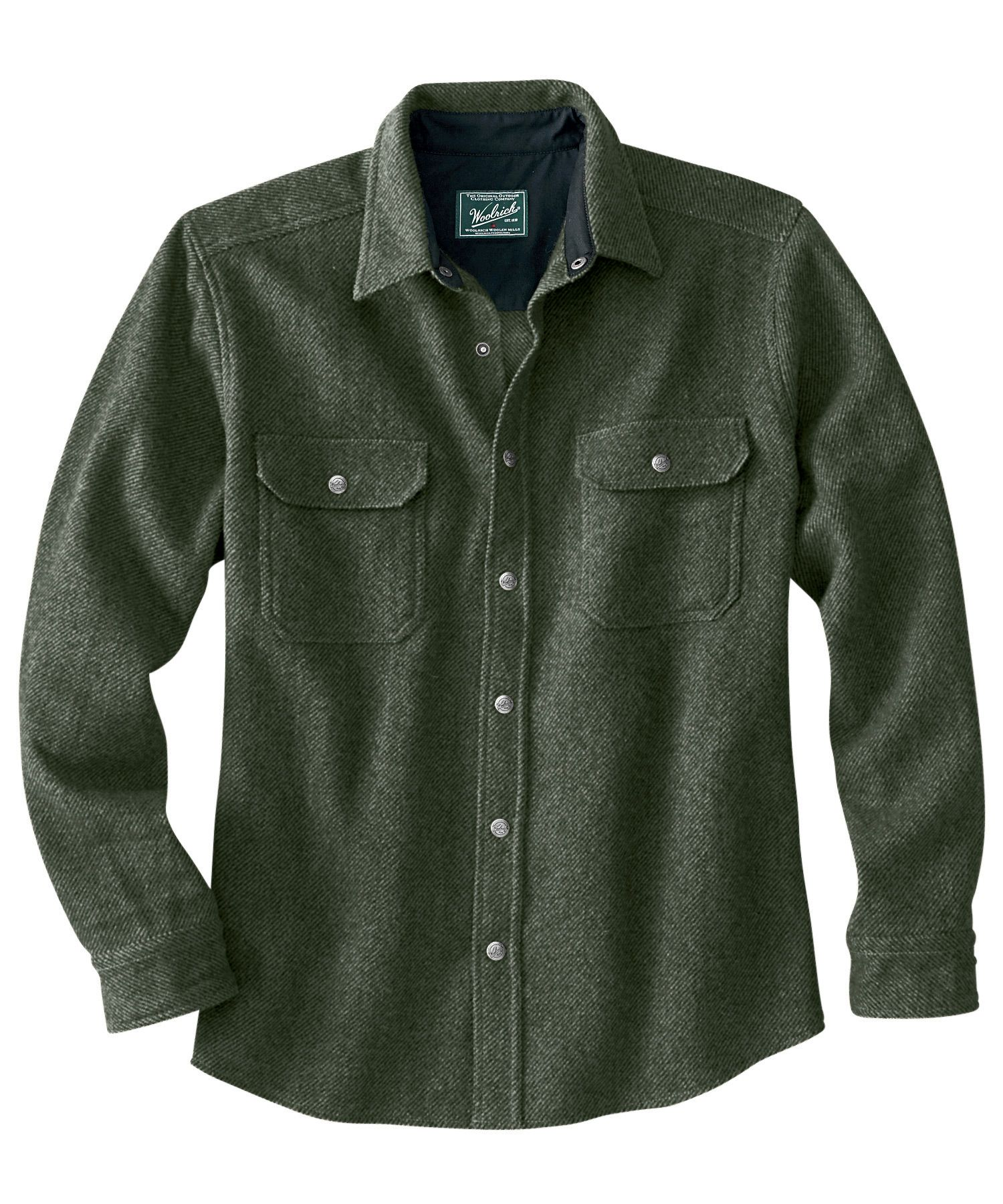 Men's Wool Alaskan Shirt - Woolrich $119 | Patrick | Pinterest ...