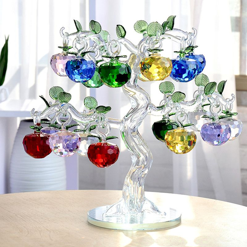 50mm-new-Year-Chirstmas-Tree-Hanging-Cut-Crystal-font-b-Glass-b-font-font-b-Apple.jpg (800×800)