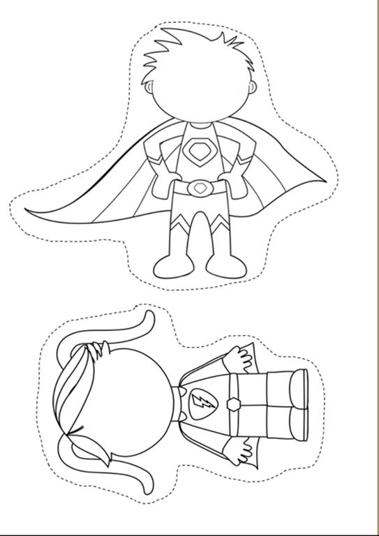 Great to make Secret Stories Superhero Vowel® manipulatives!! #superherocrafts