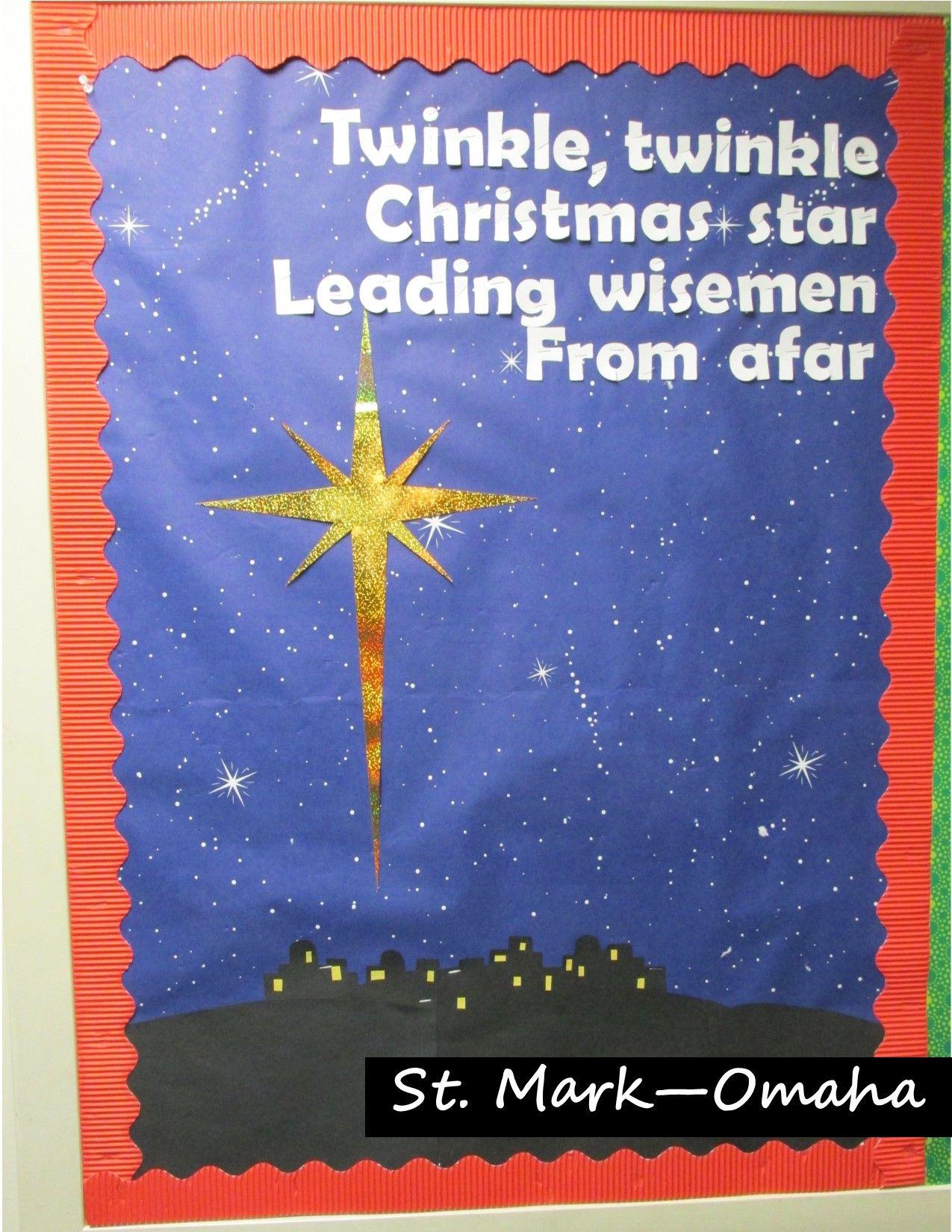 sunday school bulletin board christmas and epiphany. Black Bedroom Furniture Sets. Home Design Ideas