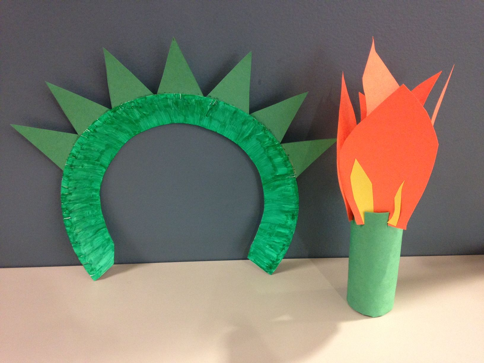 Craft Time New York Make A Statue Of Liberty Torch And