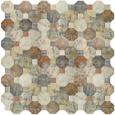 Tile & Decor Merola Tile Silex Decor 1734 Inx 1734 Inceramic Floor And