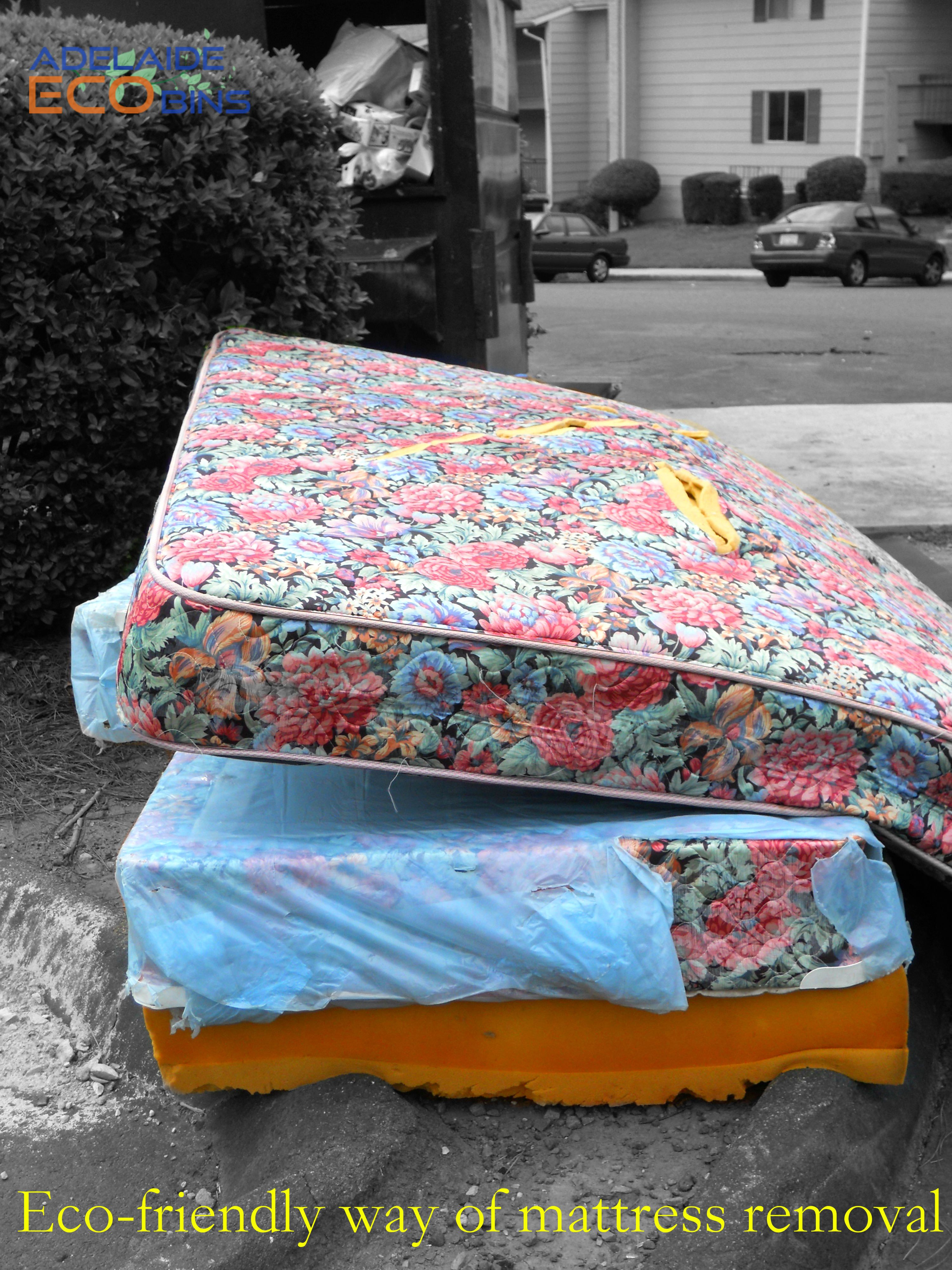 Eco Friendly Way Of Mattress Removal Waste Management Pinterest