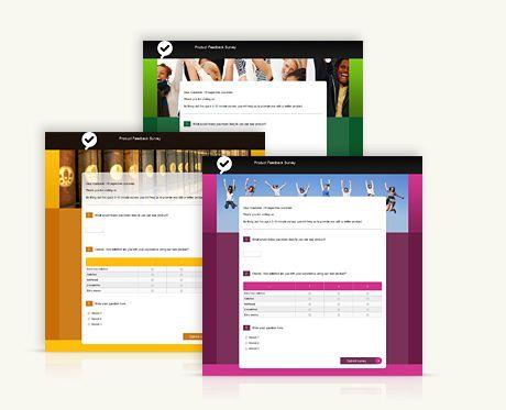 Stunning survey templates Survio Pinterest Template - feedback survey template