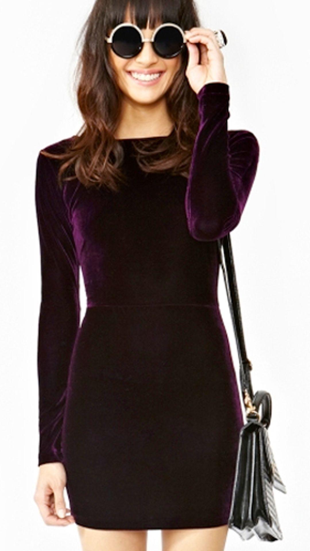 Lap of Luxury Velvet Dress - Two Colors - Pinterest - Red velvet ...