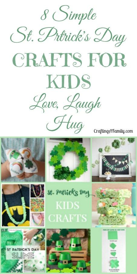8 St Patrick S Day Quick Easy Kids Crafts The Pinterest Group